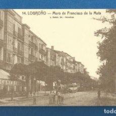 Postales: TARJETA POSTAL CON CALENDARIO PUBLICIDAD AÑO 2008 HIJAZO LIBROS LOGROÑO. Lote 287642873
