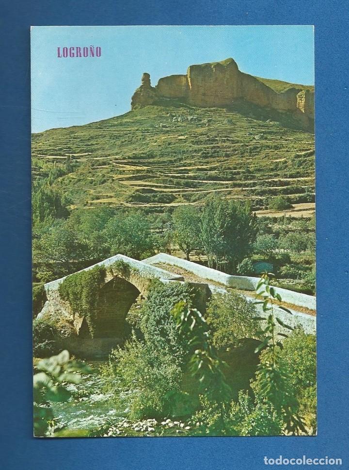 POSTAL SIN CIRCULAR VIGUERA 501 LOGROÑO EDITA PARIS (Postales - España - La Rioja Moderna (desde 1.940))