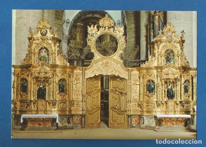 POSTAL SIN CIRCULAR MONASTERIO DE YUSO 8 LOGROÑO SAN MILLAN DE LA COGOLLA EDITA ESCUDO DE ORO (Postales - España - La Rioja Moderna (desde 1.940))
