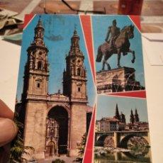 Postales: POSTAL LOGROÑO. Lote 288576868