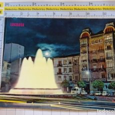 Postales: POSTAL DE LA RIOJA. AÑO 1968. LOGROÑO FUENTE LUMINOSA MARQUÉS DE MURRIETA. 500 PARIS . 1062. Lote 290030778