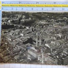 Postales: POSTAL DE LA RIOJA. AÑO 1961. LOGROÑO PANORÁMICA. 1 AEROPOST. 1068. Lote 290031658
