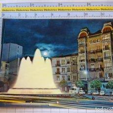 Postales: POSTAL DE LA RIOJA. AÑO 1968. LOGROÑO FUENTE LUMINOSA MARQUÉS DE MURRIETA 500 PARIS. 1077. Lote 290032728