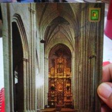 Postales: POSTAL NAJERA LOGROÑO SANTA MARÍA LA REAL N 7 ESCUDO DE ORO FECHADA. Lote 291905088