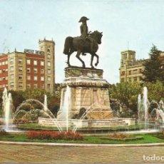 Postales: [POSTAL] ESTATUA DEL GENERAL ESPARTERO. LOGROÑO (LA RIOJA) AÑO 1968 (CIRCULADA). Lote 292415393