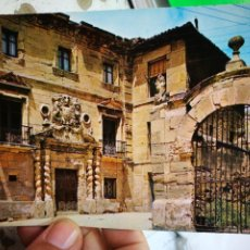 Postales: POSTAL HARO PALACIO DE LOS CONDES DE HARO N 6 ALARDE 1970 ESCRITA. Lote 295647123