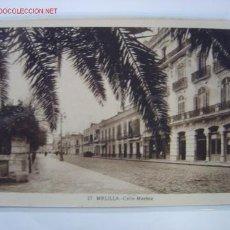 Postales: MELILLA CALLE MARINA. Lote 459454