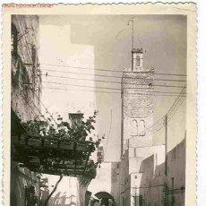 Postales: MELILLA. CALLE DEL BARRIO MORO. Lote 5095399
