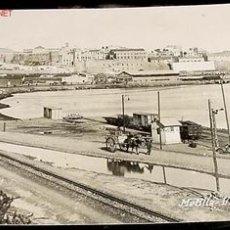 Postales: ANTIGUA FOTO POSTAL DE MELILLA - VISTA DEL PUERTO - ESCRITA EN 1916 - PROTECTORADO. Lote 8715670