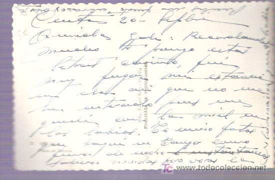 Postales: TARJETA POSTAL DE MELILLA. Nº 21. PLAZA DE ESPAÑA. ED. RAFAEL BOIX. - Foto 2 - 24855442