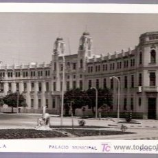 Cartes Postales: TARJETA POSTAL DE MELILLA. PALACIO MUNICIPAL. FOTO SORIA. . Lote 23652006