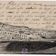Postales: MELILLA. EL POLIGONO. ED. EXCELSIOR F. C. ESCRITA.. Lote 12373487