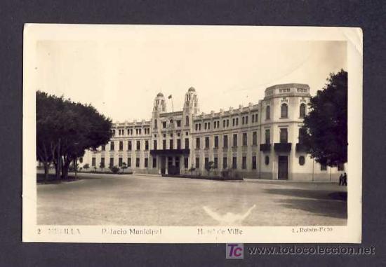 POSTAL DE MELILLA: HOTEL DE VILLE (ROISIN NUM.2) (Postales - España - Melilla Antigua (hasta 1939))