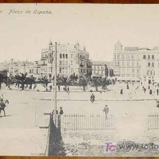 Postales: ANTIGUA POSTAL DE MELILLA - N. 24 - PLAZA DE ESPAÑA - NO CIRCULADA - ED. BOIX HERMANOS.. Lote 7866341