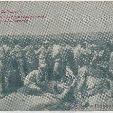 Postales: POSTAL GUERRA CAMPAÑA DE MELILLA CAZADORES DE LLERENA HACIENDO FUEGO...AFRICA ESPAÑOLA. Lote 13736802