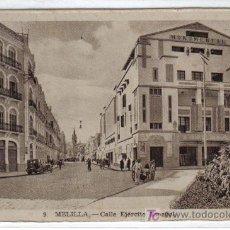 Postales: 9. MELILLA CALLE EJÉRCITO ESPAÑOL. L. ROISIN FOT - SIN CIRCULAR. Lote 26918857