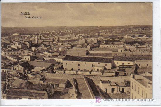MELILLA VISTA GENERAL - EDICIÓN M.V. POSTAL EXPRES - Nº 121 - SIN CIRCULAR (Postales - España - Melilla Antigua (hasta 1939))