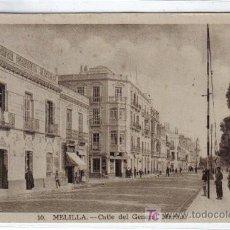 Postales: 10.- MELILLA CALLE DEL GENERAL MARINA - L. ROISIN FOT - SIN CIRCULAR. Lote 26802968
