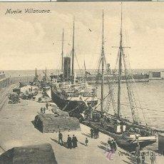Postales: MELILLA. MUELLE VILLANUEVA.. Lote 10277758