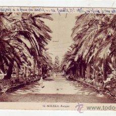 Postales: MELILLA: PARQUE. ROISIN, FOTOGRAFO.. Lote 9313570