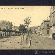 Postales: POSTAL DE MELILLA: CALLE DEL GENERAL BUCETA (ED.BOIX NUM.12). Lote 9446748