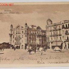 Postales: ANTIGUA POSTAL MELILLA - ENTRADA CALLE ALFONSO XII - NO CIRCULADA - ESCRITA.. Lote 1393543