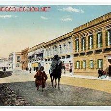 Postales: MELILLA. CALLE GENERAL CHACEL. ED. V.L. SEVILLA. ESCRITA. Lote 11796223