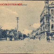 Postales: TARJETA POSTAL DE MELILLA. - CALLE DEL GENERAL MARINA.. Lote 20880951