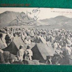 Postales: MELILLA,VISTA DEL ZOCO EL GEMIS. Lote 16698294