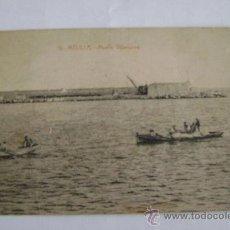 Postales: MELILLA-MUELLE VILLANUEVA. Lote 17586128