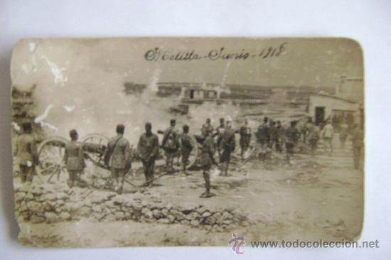 MELILLA JUNIO 1918-FOTOGRAFICA-11031 (Postales - España - Melilla Antigua (hasta 1939))