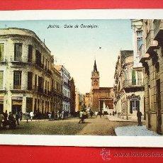 Postales: MELILLA--CALLE DE CANALEJAS--SIN CIRCULAR. Lote 10382055