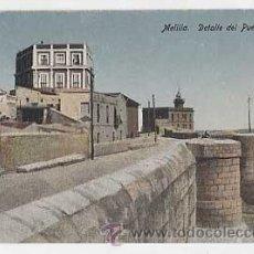 Postales: MELILLA. DETALLE DEL PUEBLO ANTIGUO. EDICION BOIX HERMANOS. SIN CIRCULAR. Lote 10834446