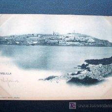 Postales: POSTAL ANTIGUA MELILLA. REVERSO SIN DIVIDIR. ANTERIOR A 1905. NÚMERO 1072. . Lote 26117610