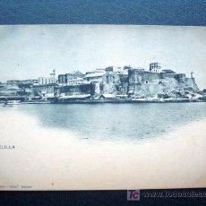 Postales: POSTAL ANTIGUA MELILLA 1. REVERSO SIN DIVIDIR. ANTERIOR A 1905. NÚMERO 1069. . Lote 26149668