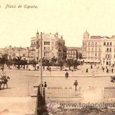 Postales: POSTAL MELILLA PLAZA DE ESPAÑA . Lote 11868744