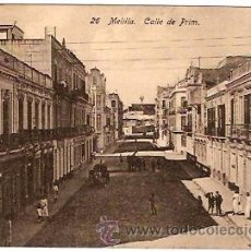 Postales: POSTAL MELILLA CALLE DE PRIM . Lote 11868810