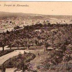 Postales: POSTAL MELILLA PARQUE DE HERNANDEZ. Lote 11868858