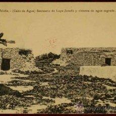 Postales: ANTIGUA POSTAL DE MELILLA - CABO DE AGUA - SANTUARIO DE LAYA JENADA Y CISTERNA DE AGUA SAGRADA - NO . Lote 12569810