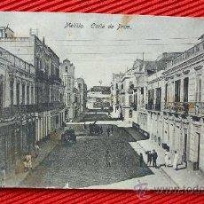 Postales: MELILLA - CALLE DE PRIM. Lote 12774122