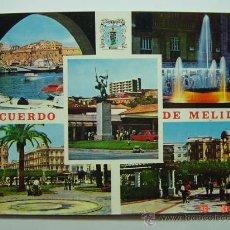 Postales: 7480 MELILLA VARIAS VISTAS AÑOS 1960 - MAS POSTALES DE ESTA CIUDAD EN MI TIENDA COSAS&CURIOSAS. Lote 12828242