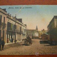 Cartoline: MELILLA. GARCÍA CABRELLES.. Lote 14180474
