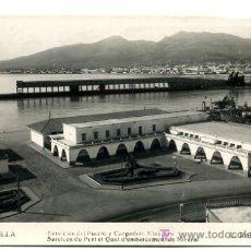 Cartoline: MELILLA, SERVICIOS DEL PUERTO Y CARGADERO MINERAL, P26589. Lote 25379556