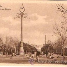 Postales: POSTAL MELILLA VISTA DEL PARQUE . Lote 13582552