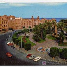 Postales: CURIOSA POSTAL - MELILLA - PLAZA DE ESPAÑA - VER TRAFICO . Lote 26787994