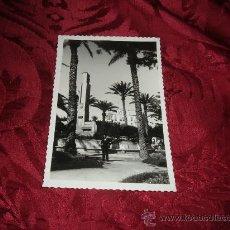 Postales: MELILLA VISTA PARCIAL DE LA PLAZA DE ESPAÑA,EDICIONES RAFAEL BOIX . Lote 14726652
