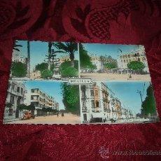 Postales: MELILLA PLAZA DE ESPAÑA,CALLE TENIENTE CORONEL SEGUI Y CALLE GENERAL MARINA. Lote 14744529
