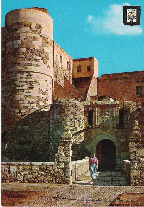 MELILLA - PUERTA DE SANTIAGO - ESCUDO DE ORO Nº 17 - (Postales - España - Melilla Moderna (desde 1940))