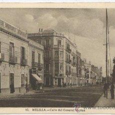 Postales: POSTAL MELILLA - CALLE GENERAL MARINA - ROISIN 1947. Lote 24861176