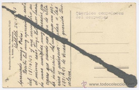 Postales: POSTAL MELILLA - CALLE GENERAL MARINA - ROISIN 1947 - Foto 2 - 24861176